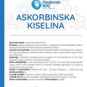 askorbinska kiselina deklaracija