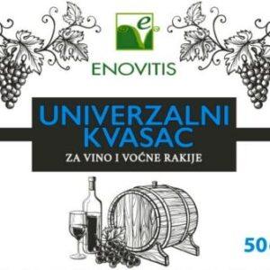 univerzalni kvasac za vino i rakiju slika