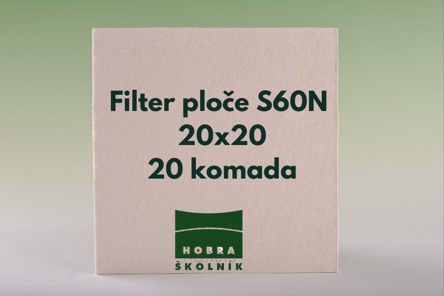 filter ploce s60n 20x20