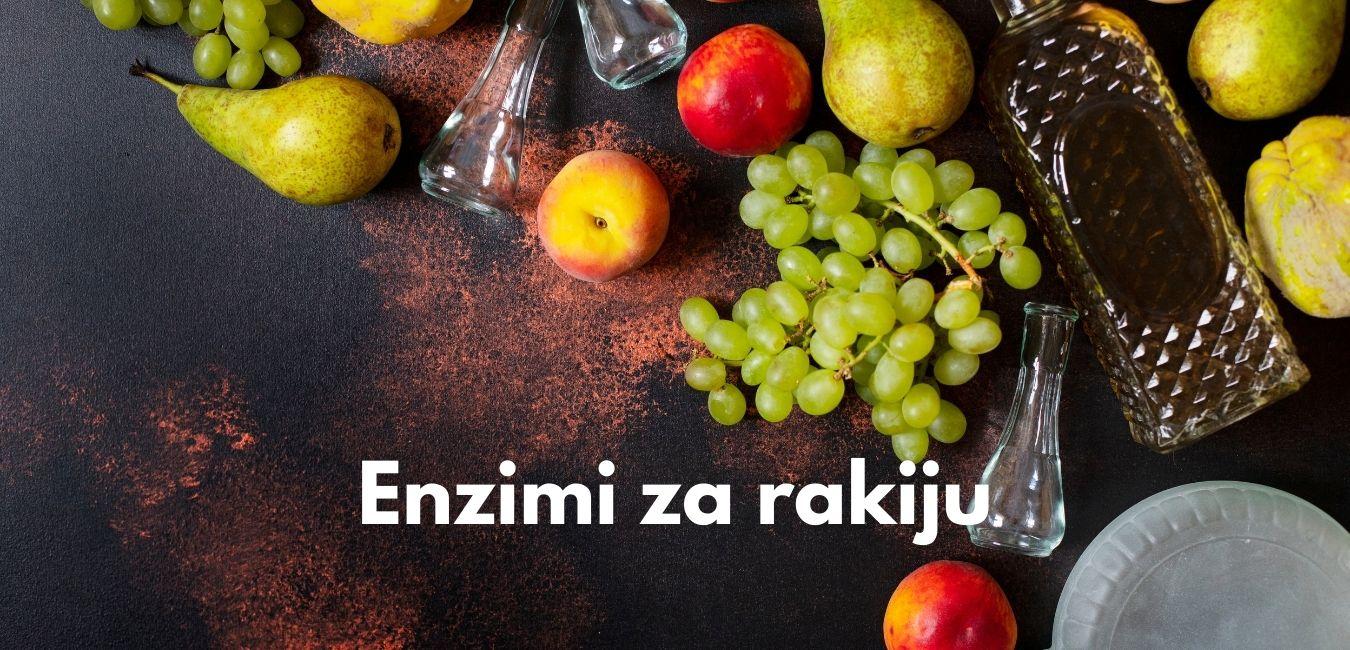enzimi za rakiju